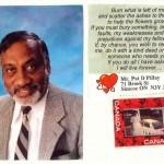 Pat created various self-memorializing plaques.